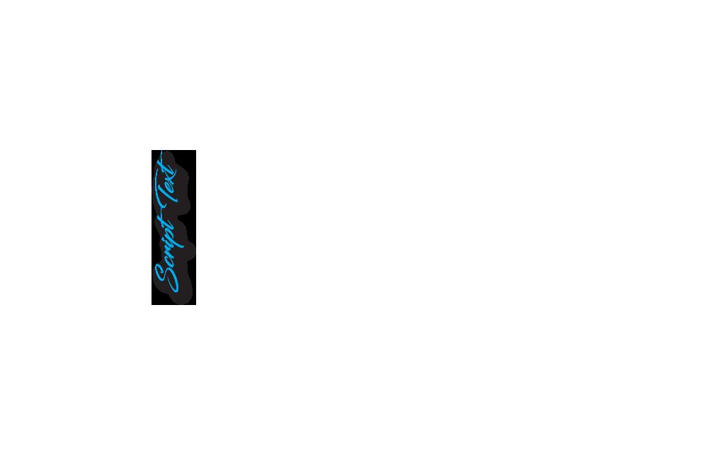 Blue Script